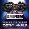 Reptile vs. Lose Yourself (IDestiny Mashup) - Skrillex & Eminem
