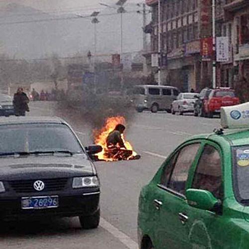 甘肃又有藏民自焚死亡