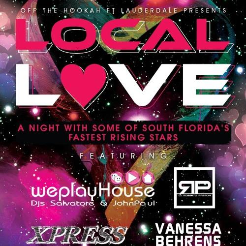 DJ Roberto Patroni - 'Local Love' Live at Off The Hookah FTL 2/15/2013