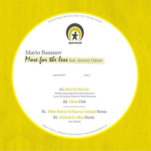 Mario Basanov - More for the Less feat. Jeremy Glenn (P.Bolivar & M.Aymard Remix)
