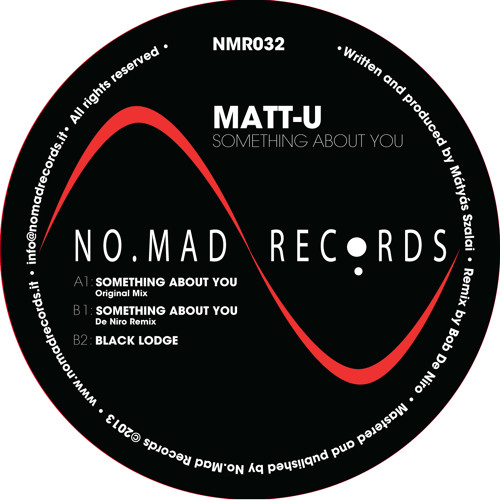 "Matt-U - Something About You (12"" vinyl)"
