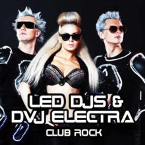 LED DJS & DVJ ELECTRA - CLUB ROCK ( M.Shu Remix )