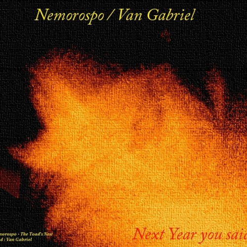 NEXT YEAR YOU SAID - Van Gabriel Production ℗ (story/Lyrics in description)