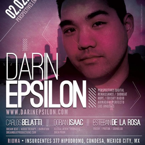 Darin Epsilon - Live at Club Rioma in Mexico City / friskyPodcast 173