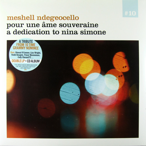 MeShell NdegeOcello -See Line Woman (feat. Tracy Wannomae)