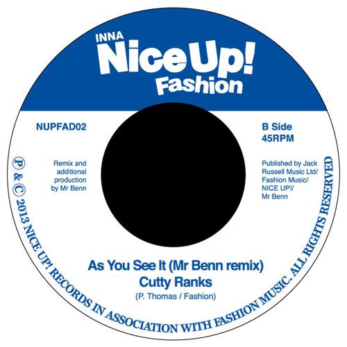 As You See It (Mr Benn remix) - Cutty Ranks