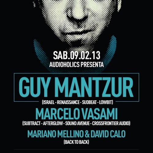 Guy Mantzur Live At Voodoo Motel - Buenos Aires (09-02-13) First Hour