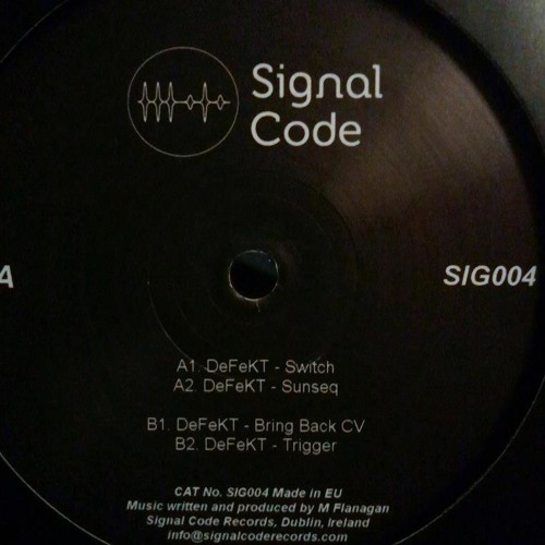 "DeFeKT - Switch Ep [12"" Signal Code Records]"