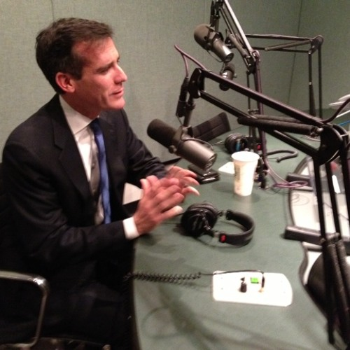 KCRW: Warren Olney interviews Eric Garcetti