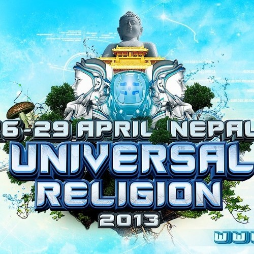 UNIVERSAL RELIGION 2013 PROMO SET MIXED BY V-SOCIETY