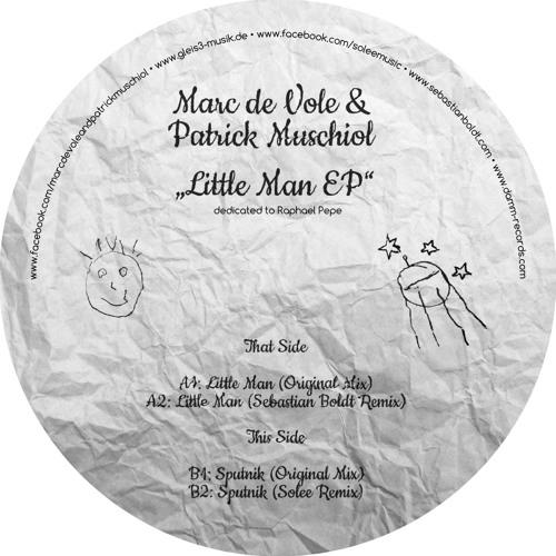 marc de vole & patrick muschiol - sputnik (solee remix - cut) / patro de musica