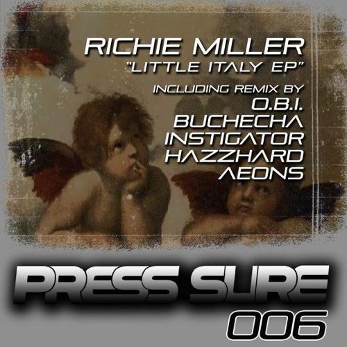 Richie Miller - Little Italy (HazzHard Remix - Cut)