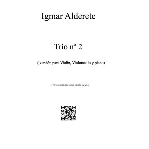 Trío nº 2 para Violín, Cello y piano 4º mov