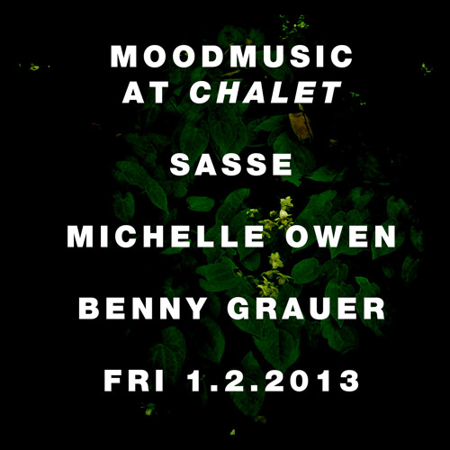 Sasse dj-mix @ Moodmusic @ Chalet Berlin - January 2013