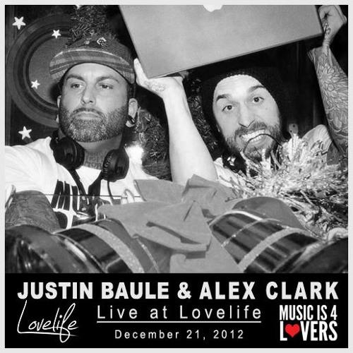 Justin Baule & Spacebyrdz Live at Lovelife [12.21.12]