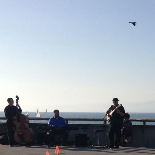 """""""Misty"""" on the Venice Pier"""