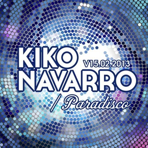 Kiko Navarro's Paradisco @ Garito Cafe 15 Feb 2013