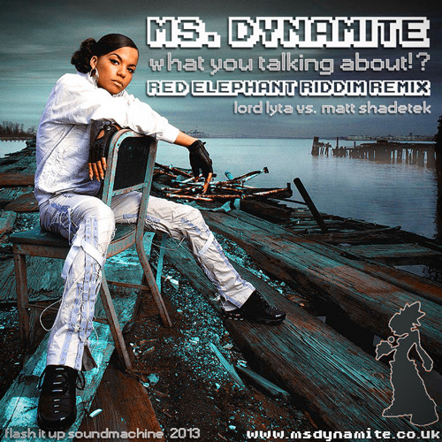 Ms. Dynamite - What You Talking About!? (Red Elephant Riddim Remix by Lord Lyta)