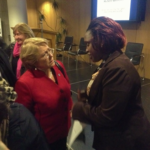 Michelle Bachelet - Gender Equality and the Post-2015 Development Framework