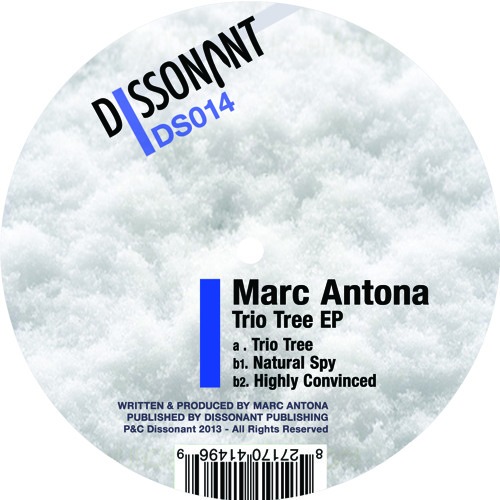 Marc Antona - Natural Spy (Dissonant DS014)