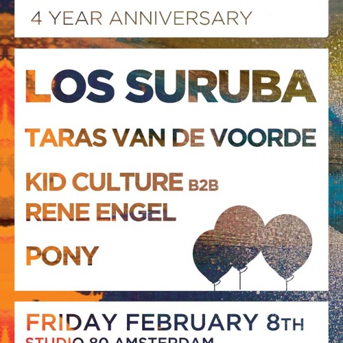 PONY LIVESET - WE ARE E 4 YEAR ANNIVERSARY @ Studio 80 - 08.02.2013