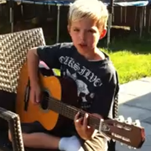 Creep (Radiohead cover) _ by: Ty Lorette (Age 9!!)