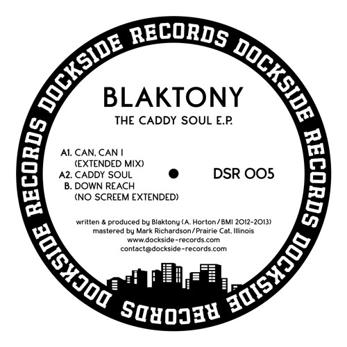 DSR005 Blaktony - The Caddy Soul E.P.