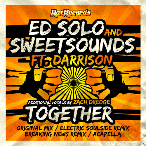 Deekline & Ed Solo - Together feat. MC Darrison (Breaking News Remix) [OUT NOW on Rat Records]