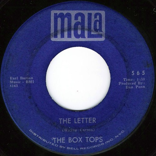 The Letter (Box Tops Cover) (2012)