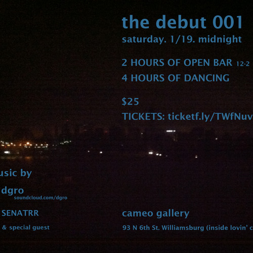 dgro - live from cameo nyc 1/19/13 - the debut 001