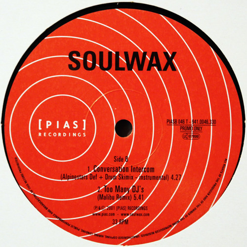 Soulwax - Too Many DJ's (Malibu Remix)