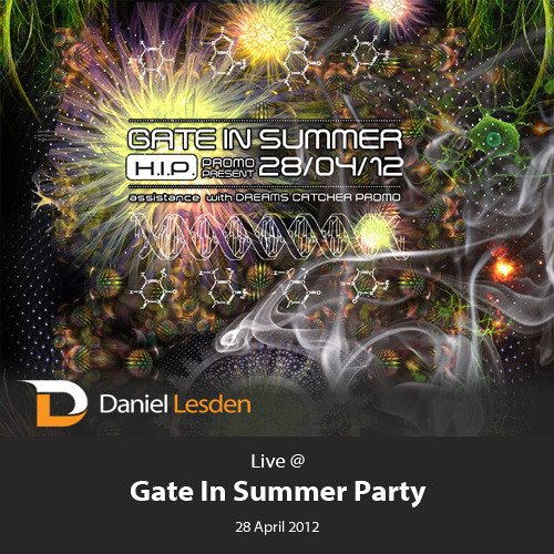 Daniel Lesden - PsyProgressive set @ Gate In Summer, 28.04.2012