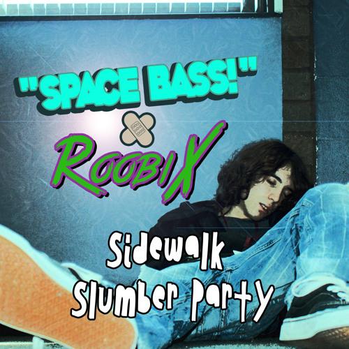 Sidewalk slumber party