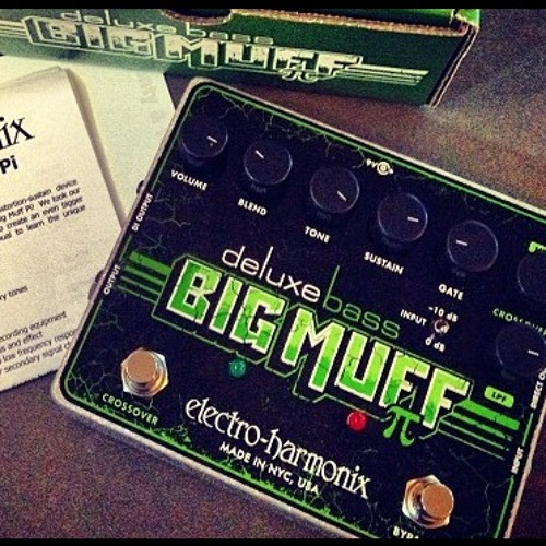 Test Track with Electro Harmonix Deluxe Bass Big Muff. (D.I.)