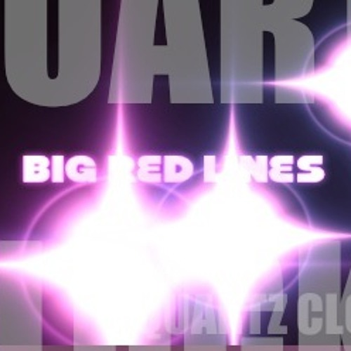 Quartz Clocks- B i g R e d L i n e s