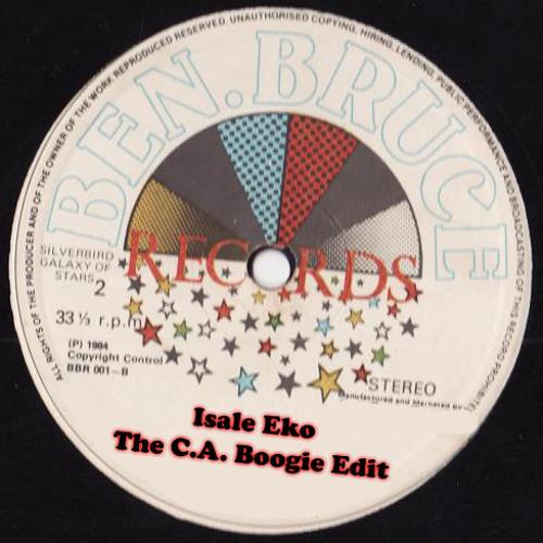 Xtasy - Isale Eko (The C.A. Boogie Edit)