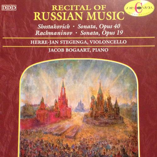 03 Dmitri Shostakovich Cellosonate in d-moll op. 40 III. Largo