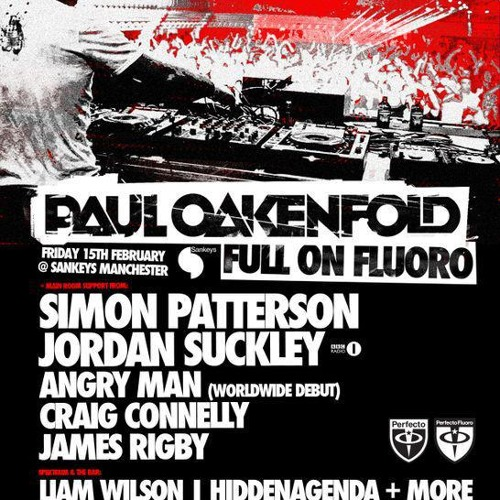 Liam Wilson -  GOODGREEF Presents FULL ON FLURO at SANKEYS! -  - Output - Stereo Out