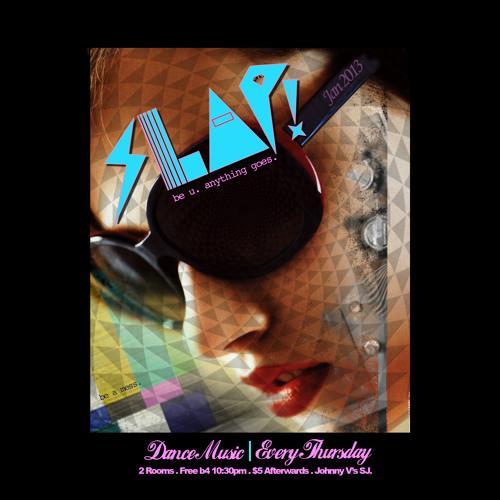 MJ Gamez - All Vinyl Funk Set Live at SLAP! - 01/31/13 - Side Room