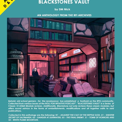 Blackstones Vault Anthology from the