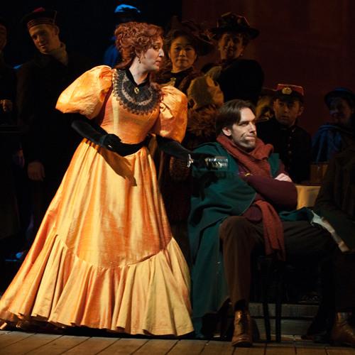 Seattle Opera LA BOHÈME Norah Amsellem as Musetta