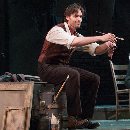 Seattle Opera LA BOHÈME Michael Todd Simpson as Marcello