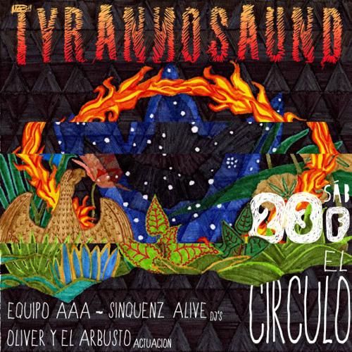 SINQUENZ ALIVE - LIVE AT TYRANNOSAUND: PHOENIX PARTY - EL CIRCULO - CUENCA (ES) 23-02-2013