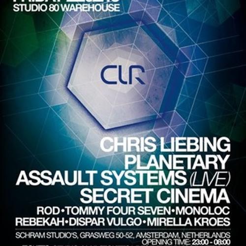 ROD @ CLR, Schram Studio's, Amsterdam (22-2-2013)