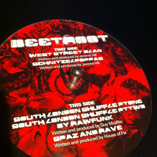 Jerome Hill: Schnitzelpoppas (Beetroot Records 001) 2008
