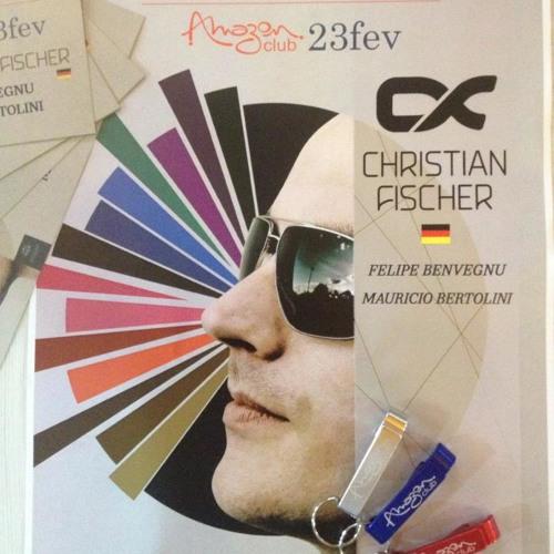 Christian Fischer Live @ Amazon Club Chapecó Brazil 23.02.2013