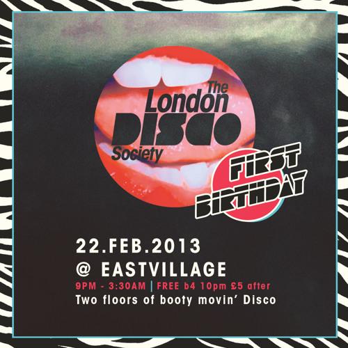 live set [super drunk] @ The London Disco Society [1st Birthday] | 22nd Feb 2013