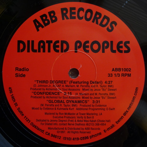 Dilated Peoples - Confidence - 1997