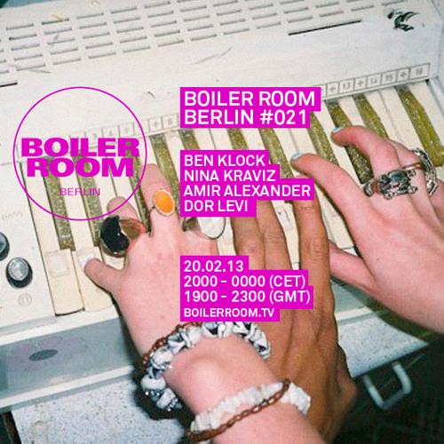 Amir Alexander 50 Min Boiler Room Berlin Mix