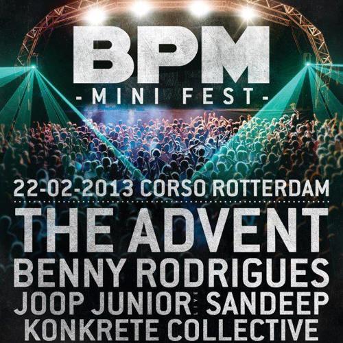 Benny Rodrigues @ BPM Fest, Corso, Rotterdam (22-2-2013)